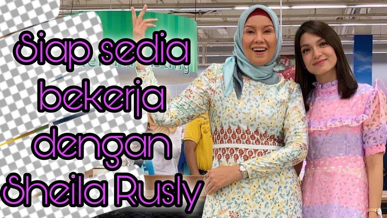 Amyra Rosli dan Sheila Rusly Ketuk Ketuk Ramadan 2019