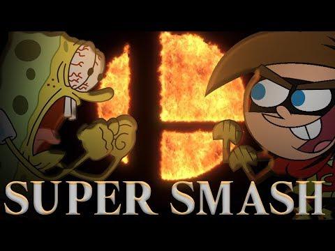 Super Smash Bros Ultimate VS. Nicktoons CROSSOVER Spongebob, Fairly OddParents, Danny Phantom