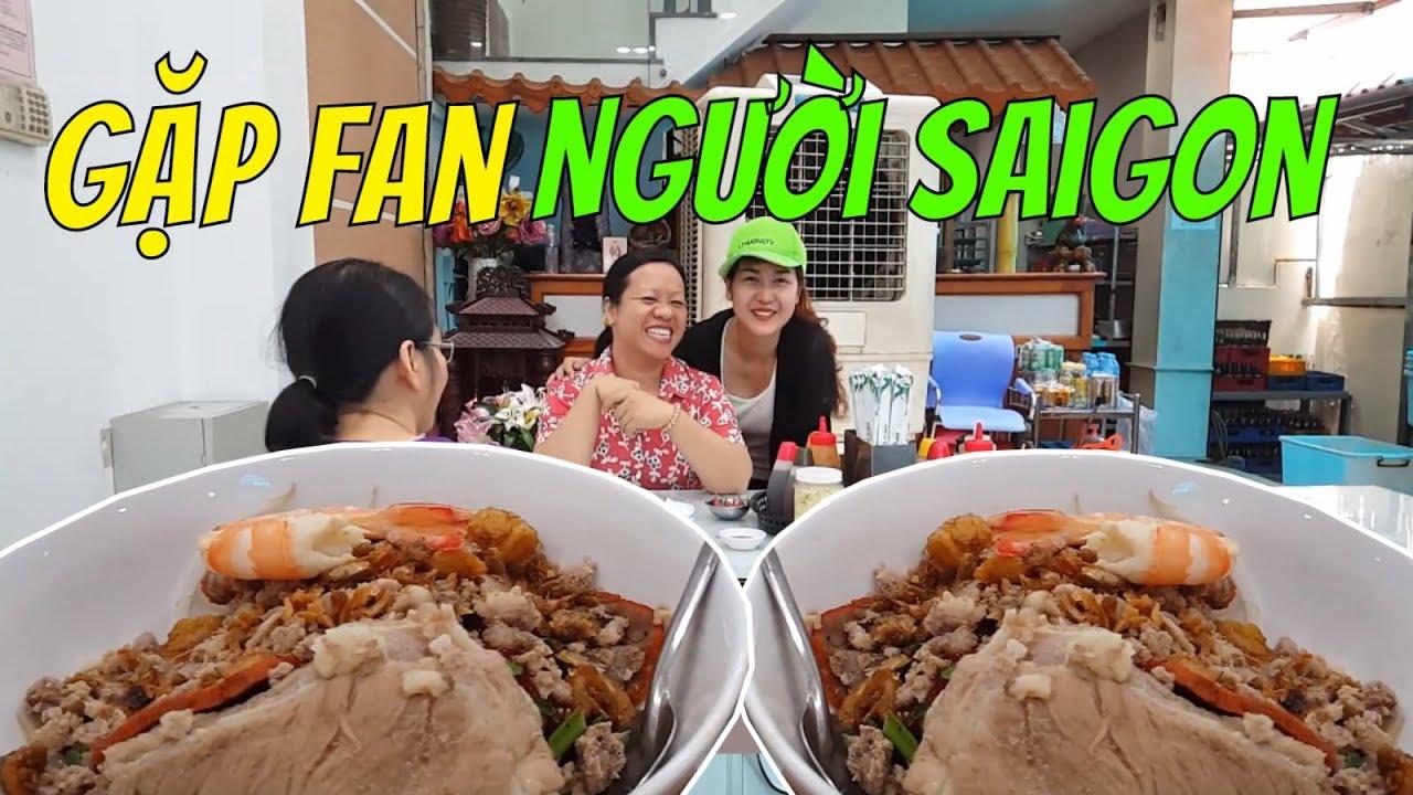 Ăn hủ tiếu Cả Cần GẶP FAN người SAIGON vui ơi là vui    Guide Saigon Food