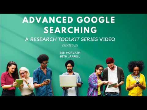 Advanced Google Search Tips
