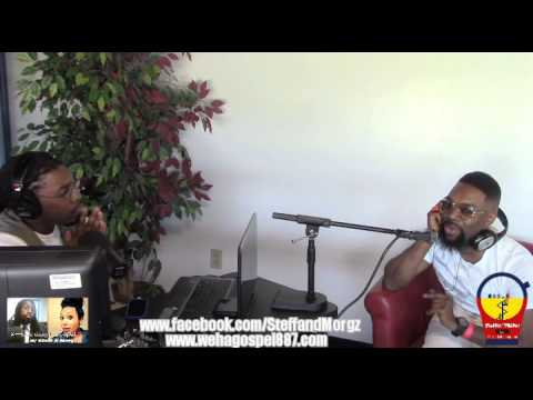 James Hall Interview - #HashtagGospel w/ Steff & Morgz