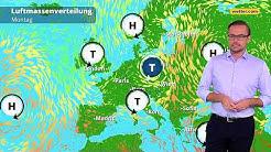 Wetter heute: Die aktuelle Vorhersage (09.09.2019)