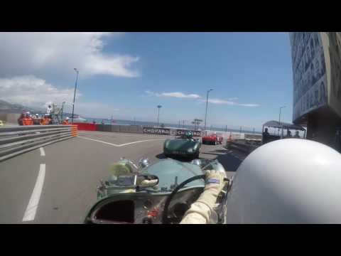 Monaco GP Historic 2016 - Onboard the HW Alta - Jaguar , Race C