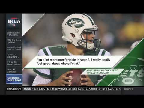 NFL Live | Jet QBs Carousel, Hackenberg Feeling Good | May 16, 2017