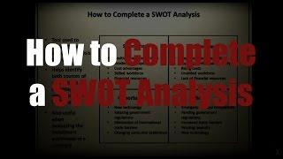 видео SWOT-анализ (СВОТ-анализ) университета