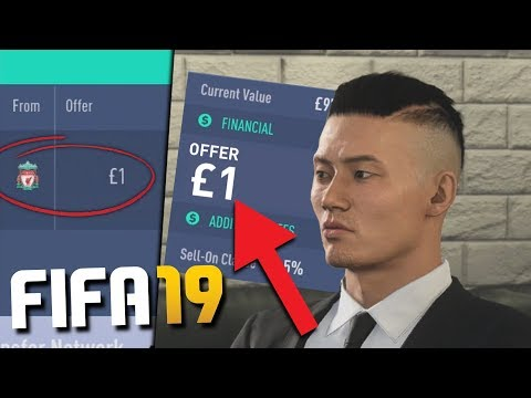 CAN YOU SIGN A PLAYER FOR £1 ON FIFA 19 CAREER MODE?