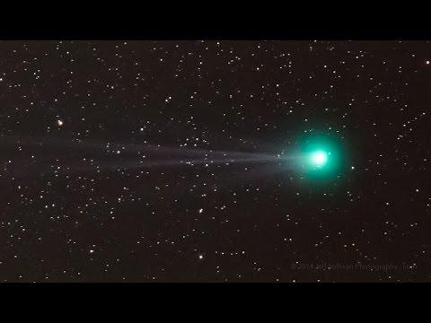 Time-lapse Footage Of Comet C2014 Q2 Lovejoy