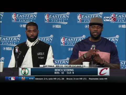 LeBron James blames himself for Cavaliers' loss  | Cavs-Celtics | NBA Playoffs