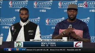 LeBron James blames himself for Cavaliers' loss  | Cavs-Celtics | NBA Playoffs
