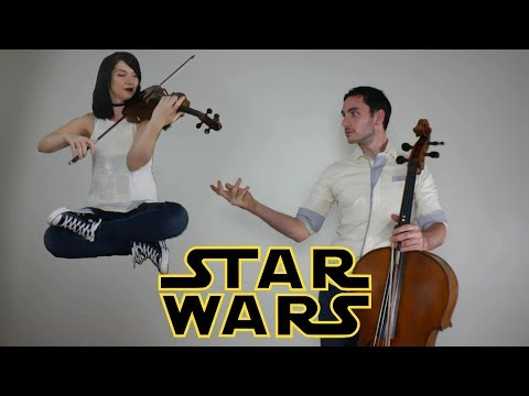 Star Wars | John Williams | Luke Skywalker theme\ Force theme | violin and cello cover