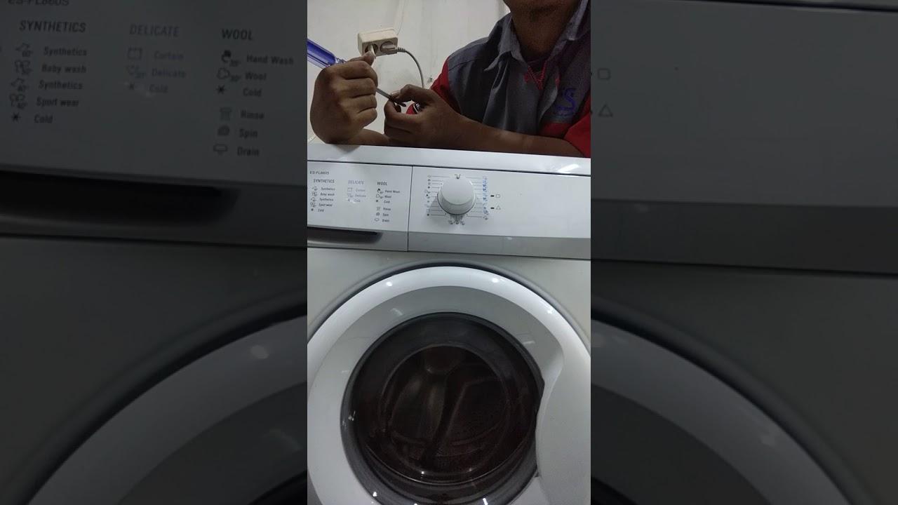 Harga Jual Mesin Cuci Sharp Es Fl872 Front Loading Boomerang Series Fl862 Instalasi Fl860s 01 Youtube Di