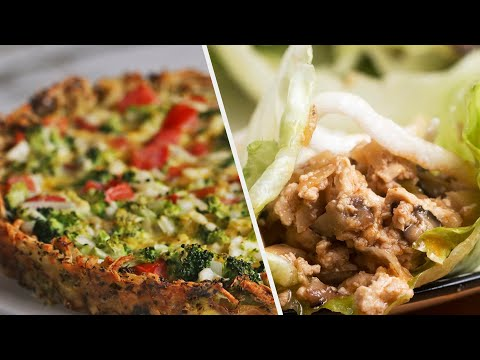 5 Low-Carb Dinner Recipes To Help You Stay Fit • Tasty