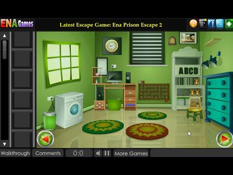 Green Apartment Escape Walkthrough Enagames Youtube