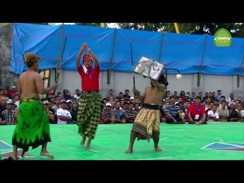 Tradisi Peresean Sasak Lombok Di Balai Budaya Narmada Lombok Barat__PART 9