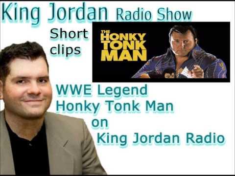 WWE Legend Honky Tonk Man on King Jordan Radio