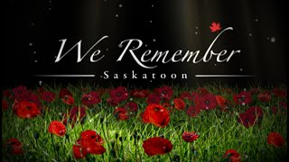 Saskatoon Remembrance Day 2015