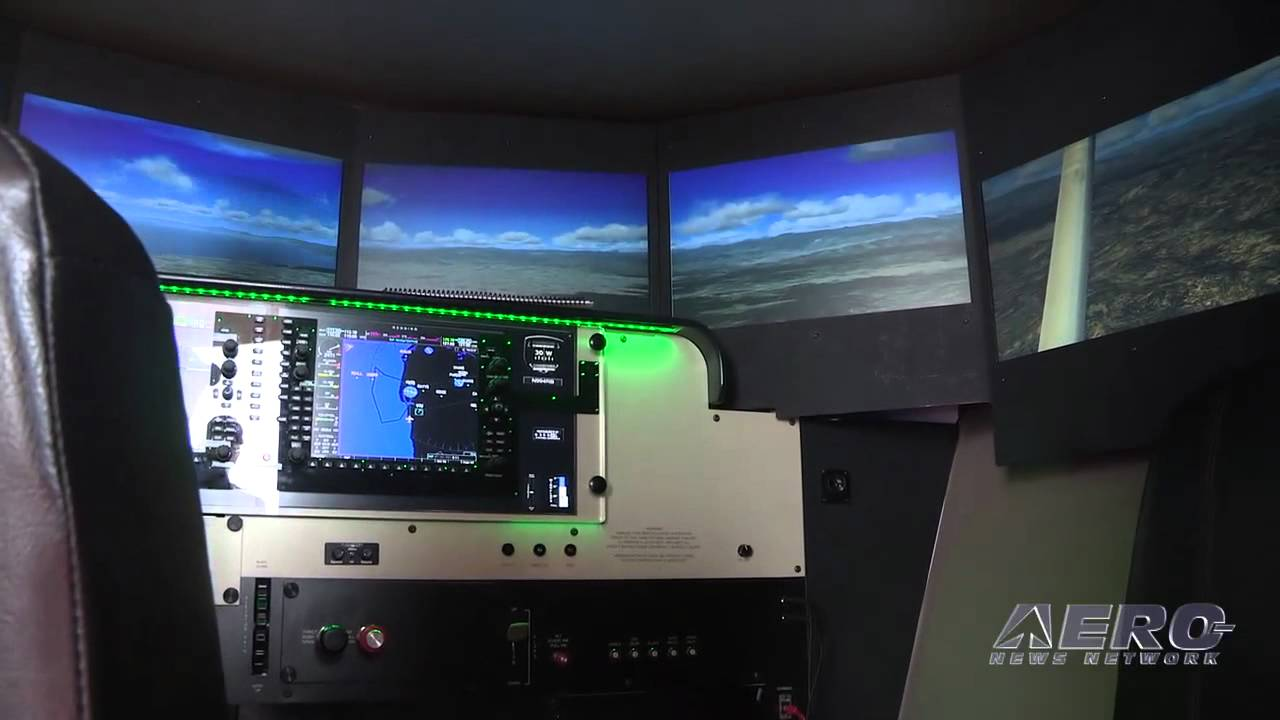 Aero-TV: Redbird FMX - The Leading Edge in GA Flight Sims