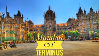 Mumbai Chatrapati Shivaji Terminus inside & outside view || Masjid to Mumbai CST short Train Journey