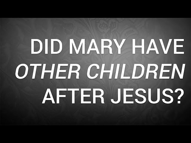 3 Things You Didn't Know about Mary (Mother of Jesus) in the