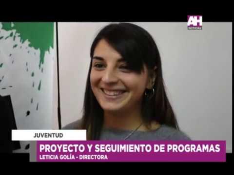 LETICIA GOLIA   VICTOR AIOLA   RECORRIDA POR JUVENTUD