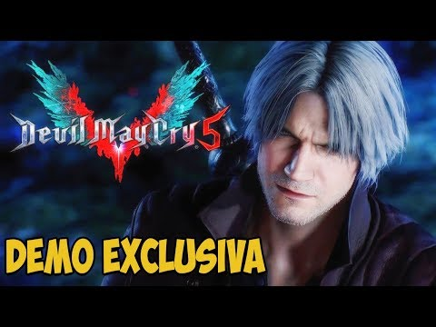 DEVIL MAY CRY 5 - DEMO GAMEPLAY EXCLUSIVA!!! - Legendado PT-BR [Xbox One X]
