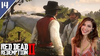 Moonshiners, Deputies & Our White Arabian Horse! | Red Dead Redemption 2 Pt. 14 | Marz Plays