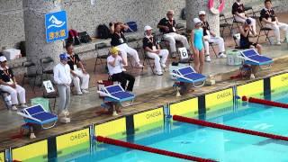 一般女子組游泳50公尺蛙式決賽