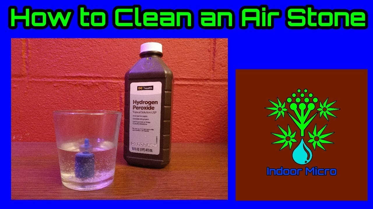 How To Clean An Air Stone Youtube