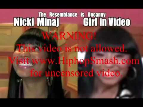 Nicki Minaj Exposed on video
