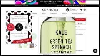 Sephora Insider Appreciation Event Wishlist