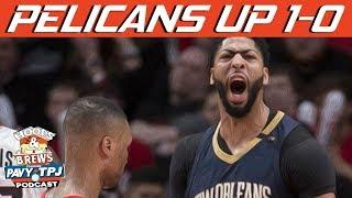 Pelicans vs Blazers Series Breakdown | Hoops N Brews thumbnail