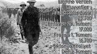 Çanakkale 18 Mart Savaşı Belgeseli ( Müthiş Ses Efektleri ve Görüntüler )