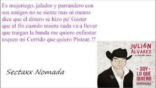 Julion Alvarez - Mi Corrido Letra (Soy lo que quiero 2014)