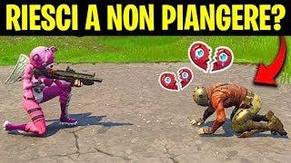 NON RIUSCIRAI a NON PIANGERE guardando QUESTO VIDEO di FORTNITE! | Best Moments & Sfide ITA
