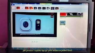 JAK Łączyć Filmy i Zdjęcia w Film MP4? Windows Movie Maker PORADNIK PL