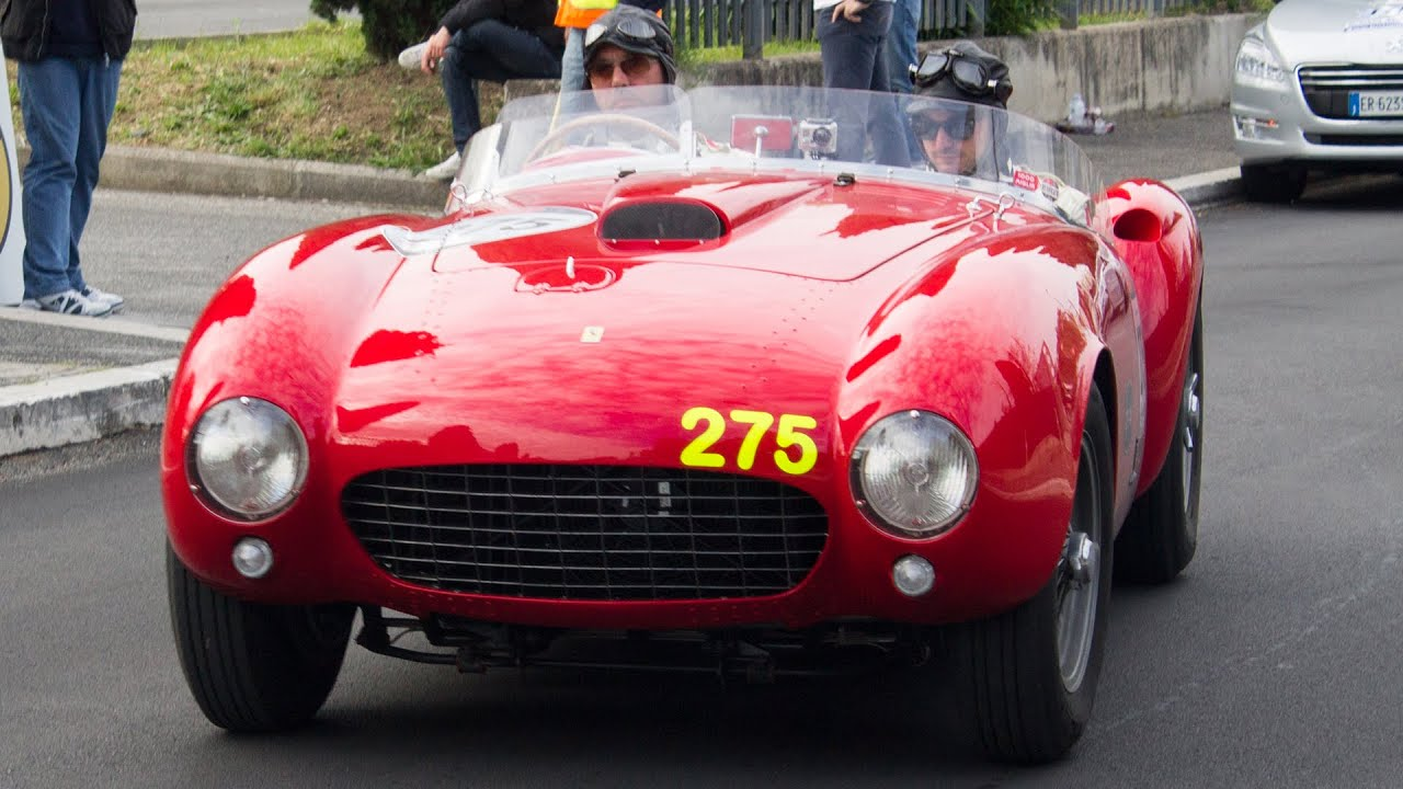 Ferrari 375 Mm Spider Pininfarina 1 Of 14 1000miglia 2014 Hq Youtube