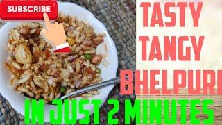 Bhelpuri Murmura Recipe / 2 Minutes Recipe#StreetFood#stayhome#staysafe