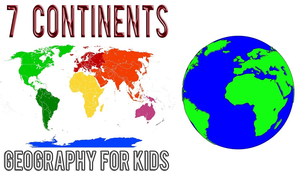 Seven Continents Of The World Interesting Facts For Kids - Seven continents of the world