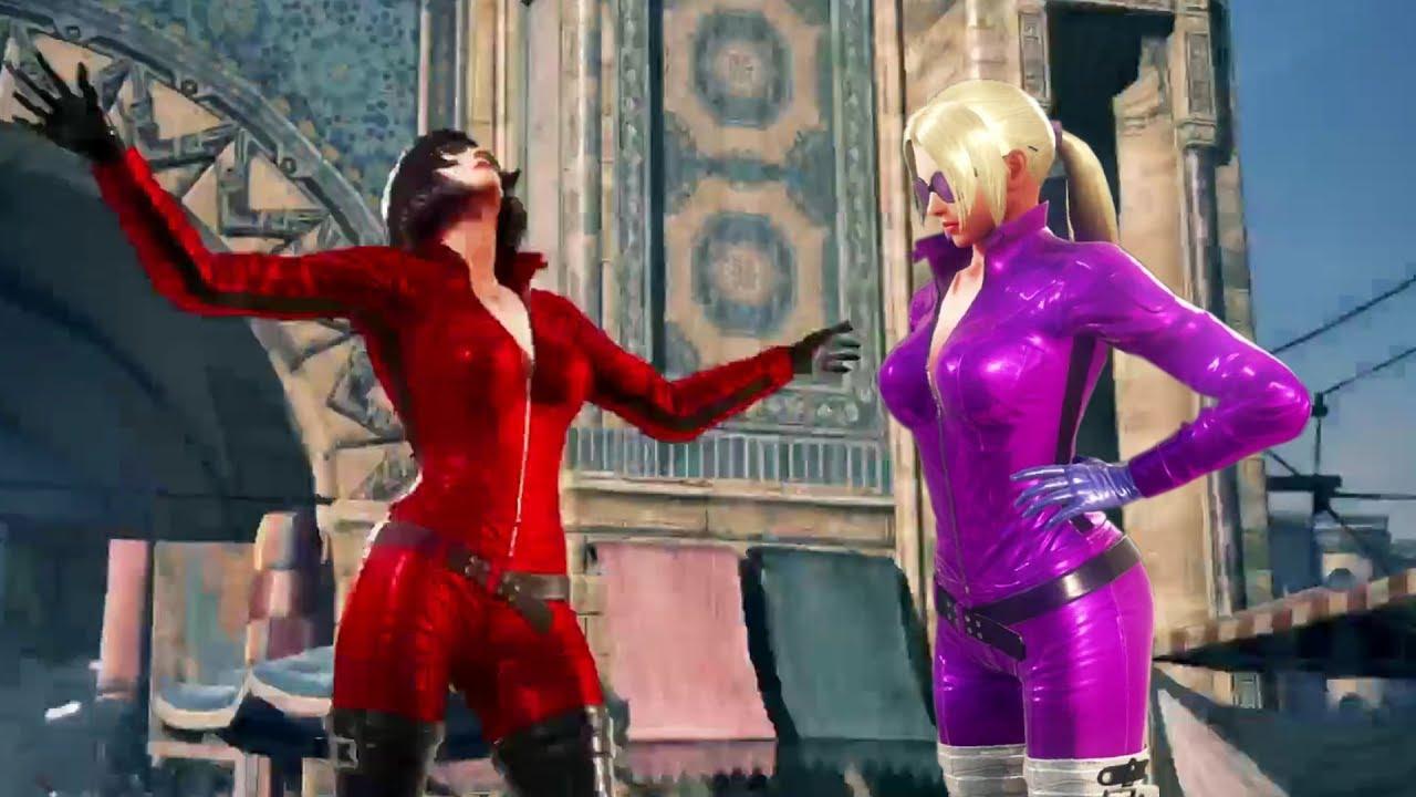 Tekken 7 Anna Williams Vs Nina Williams Voice Mod Youtube