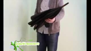 видео Оригинальные Женские Зонты-Трости