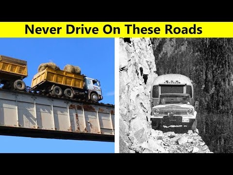 The Most Dangerous Roads From Around The World