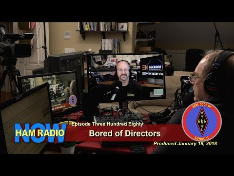 HRN 380: Bored of Directors, on Ham Radio Now