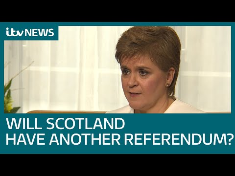 Nicola Sturgeon speaks about the prospect of Scottish independence in heated interview | ITV News