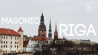 MAVIC MINI | IPHONE 11 PRO | MASONIC RIGA | CINEMATIC