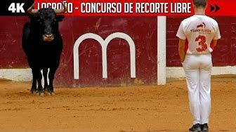 Imagen del video: TOROS: Concurso de recorte libre en Logroño
