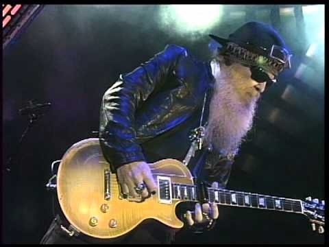 ZZ TOP Just Got Paid Today 2008 LiVe