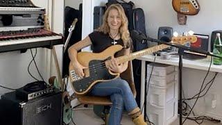 "@Nicole Row's ""Child"" aka Her Favorite @Fender Jazz Bass - Rig Rundown Trailer"