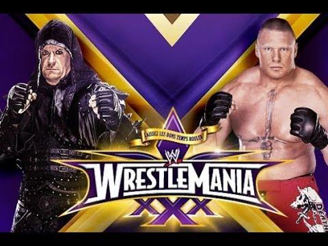 WWe WrestleMania 30 xxx Under teakar vs brock layzner