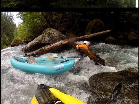 Breitenbush River Whitewater Kayaking, May 2013 (Inflatable Kayak)