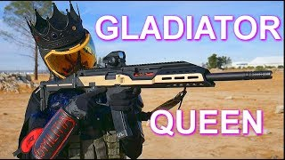 Futuristic Gladiator Queen Cosplay | EVA foam armor